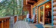 Log Cabins - Idyllic and Cozy