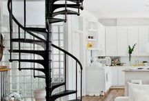 interior | spiral staircases