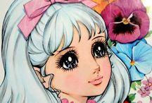 Manga Vintage Retro