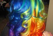 Hair + make up..