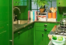 Emerald Accents / Channel the luck of the Irish with these green-inspired rooms.  / by Shark Cleaning