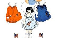 paper dolls - periodicals / by Lenore Lev