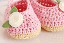 Crochet - Booties/Sandals/Mittens