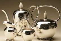 Gallery 925 Sterling Silver Coffee and Tea Sets / Beautiful collection of coffee and tea sets, and accessories that make for elegant service for friends and family.