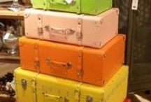 Old suitcases, new life