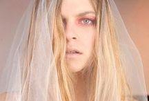 off-white / modern wedding dresses photo: Michal greg