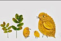 Bruna: Herfstknutselen / Wat heb je nodig? Papier, lijm en herfst!