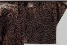 Viking age clothing - textile finds / General textile finds from Scandinavia during the Viking age.