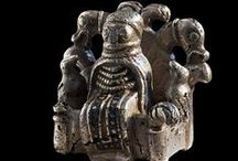 Viking age clothing - figurines and pictures