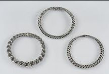 Viking age clothing - other jewellery / Archaeological finds of arm rings, finger rings, chains, pendants and other Viking age jewellery. Brooches and pearls now have their own boards.