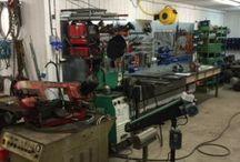 Workshop in Faraasen Store / My workshop, metal creations, DIY stuff and tools.