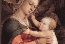 Madonna and child through the history