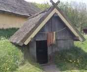 Reconstructed Viking settlements