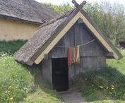 Reconstructed Viking settlements