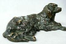 Vintage animal figurines