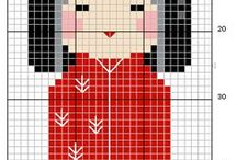 Cross-Stitch / Lots of patterns to either try, or stare at in awe.