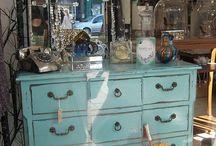 Shabby Chic Redone Furniture