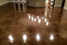 Interior Concrete Staining