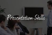 PRESENTATION SKILLS FOR PUBLIC SPEAKING / Here you will find helpful blog posts, infographics and quotes about public speaking and presentation skills. Be inspired and improve your own competences by learning how to give a perfect presentation.