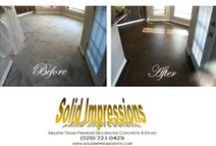 Before & After Decorative Concrete