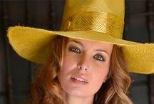 Luisa Manzanares summer hats / www.luisamanzanares.com