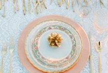 Pink & Peach Wedding / A beautiful pink, peach and gold wedding. Perfect colors for a summer outdoor wedding. Wedding Planning by Elegant Aura