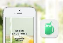 E-books and healthy recipe apps
