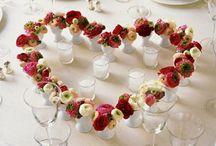 Jolies tables décorées / Tables décorées