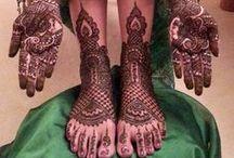 Mehendi ~ Henna design / by Purva Desai