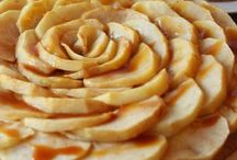 Desserts en fleurs