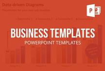 BUSINESS // POWERPOINT TEMPLATES / Business Templates for professional PowerPoint presentations. The high class business presentation help you to illustrate the performance of your company. PresentationLoad offers all required PowerPoint templates to create professional presentations out of various categories. The large selection of premium quality management tools, cockpit charts,  business icons, organigrams,  diagrams, text boxes, timelines, and spheres areperfect templates for your business presentation.