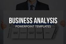 BUSINESS ANALYSIS // POWERPOINT TEMPLATES / What is business analysis and what are some of the techniques professional analysts use? One example of a popular technique would be SWOT (strengths, weaknesses, opportunities and threats) which is used in many different decision-making situations. This board contains pins of business analysis ideas, tools, templates and tips to help you answer important questions about your business, industry and competitors.