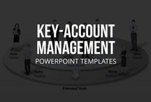 KEY-ACCOUNT MANAGEMENT // POWERPOINT TEMPLATES / Key-Account-Management PowerPoint templates, forms and plans for as  help for your customer care of your most important accounts. The KAM templates feature important worksheets, checklists and forms, such as Key-Account plans, business position, business development, SWOT analysis, MOST analysis, customer analytics and action plans. This high quality PPT template collection also includes the most important basics such as definitions, interpretations, tasks and objectives.