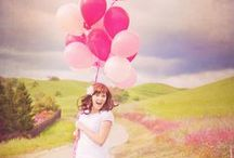 Balloons / I Wish I Could Fly Away With These Balloons and Set Myself Free / by Purva Desai