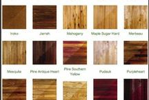 Wooden Flooring / A selection of flooring styles