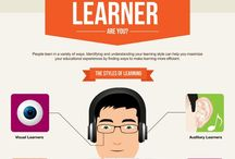 Infograhics in Education / Examples of infographics in various subject areas.