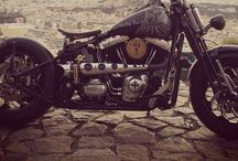 Harley Davidson Crossbones Bobber / My 2009 Softail Crossbones Bobber during years!!!