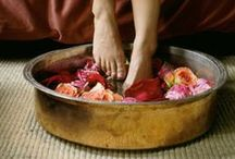 GODDESS BATHS / One of my absolute favourite ways to practice self-care. Some beautiful inspiration here for you. Make it a regular ritual.