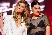 Jessie J and Delta Goodrem