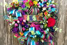 Fiesta Wreaths and Decor / Wreaths and other decor for Fiesta and Cinco de Mayo by She's Crafty Too. FOLLOW ME AT ETSY www.etsy.com/shop/shescraftytootx    FACEBOOK www.facebook.com/shescaftybyclaranicole   Www.facebook.com/groups/shescraftybyclara  INSTAGRAM @shescraftyclara