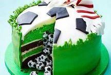 Le foot jusque dans nos desserts