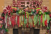 Christmas Mantles / Christmas mantle designs