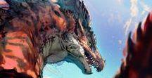 Dinosaur/Dragon/Shark