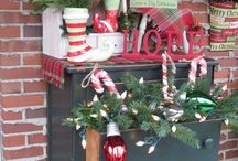 Christmas porch ideas