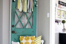 Vintage door repurpose