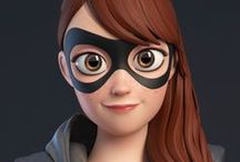 Cartoon Characters 3D WOMEN