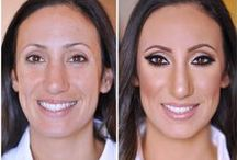 Before and After Makeup Make-Overs by Joanna Petit-Frere / All my before and after makeup looks