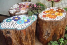 DIY & Crafts - Garden Projects / More garden Art DIY Projects that are just plain Fun! Go outside and Play!
