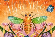 Save the honeybee save humanity! / Scientists believe man would survive 4 years without them..they pollinate 70% of our food sources and we are destroying them with pesticides!