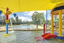 Family Fun / BIG4 Karuah Jetty Holiday Park has acres of grass with an entertaining playground for the little ones. We also have a beautiful pool for family fun!